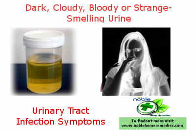 Dark Cloudy Bloody or Strange -Smelling Urine - UTI Symptoms