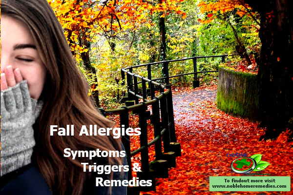 fall allergies symptoms triggers and remedies