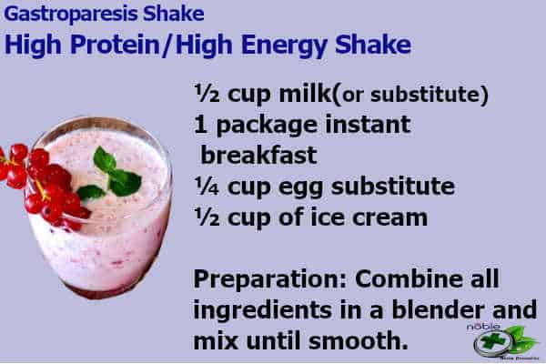 Gastroparesis Shake - High Protein and High Energy Shake
