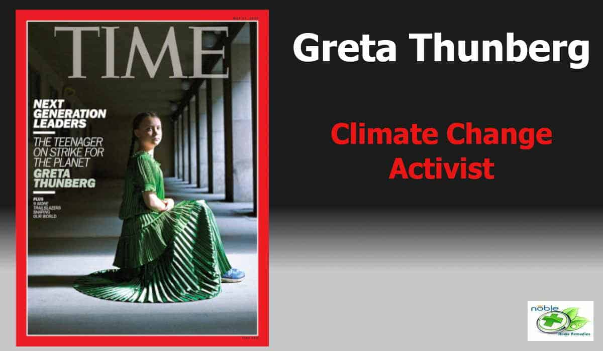 Global Warming Climate Change Activist - Greta Thungberg