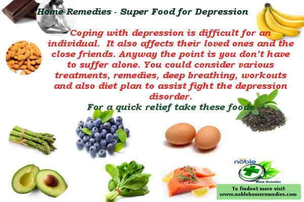 Home Remedies - Super Food for Depression - Guide