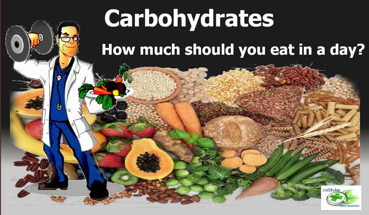 How much carbohydrates should you eat in a day