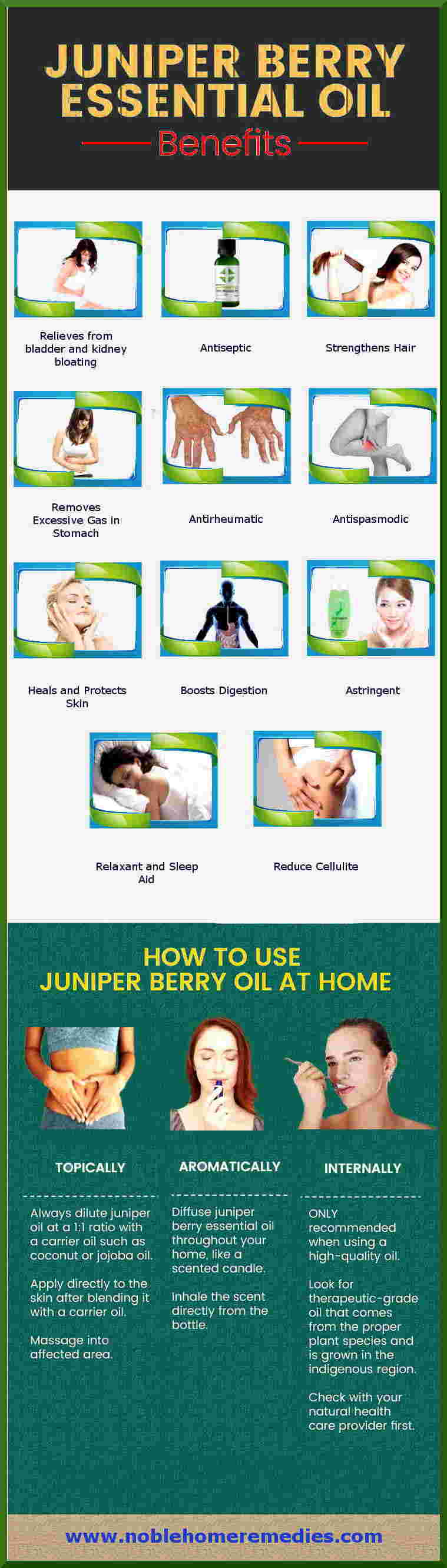 Juniper Berry Essential Oil Health Benefits