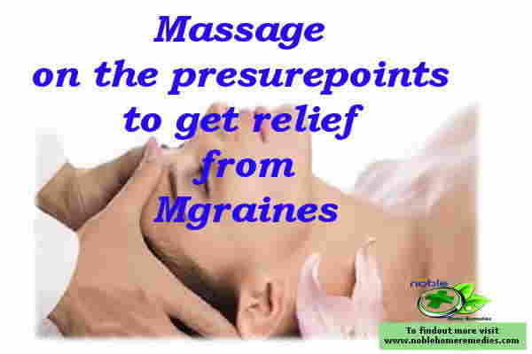 Massage for migraines headache relief