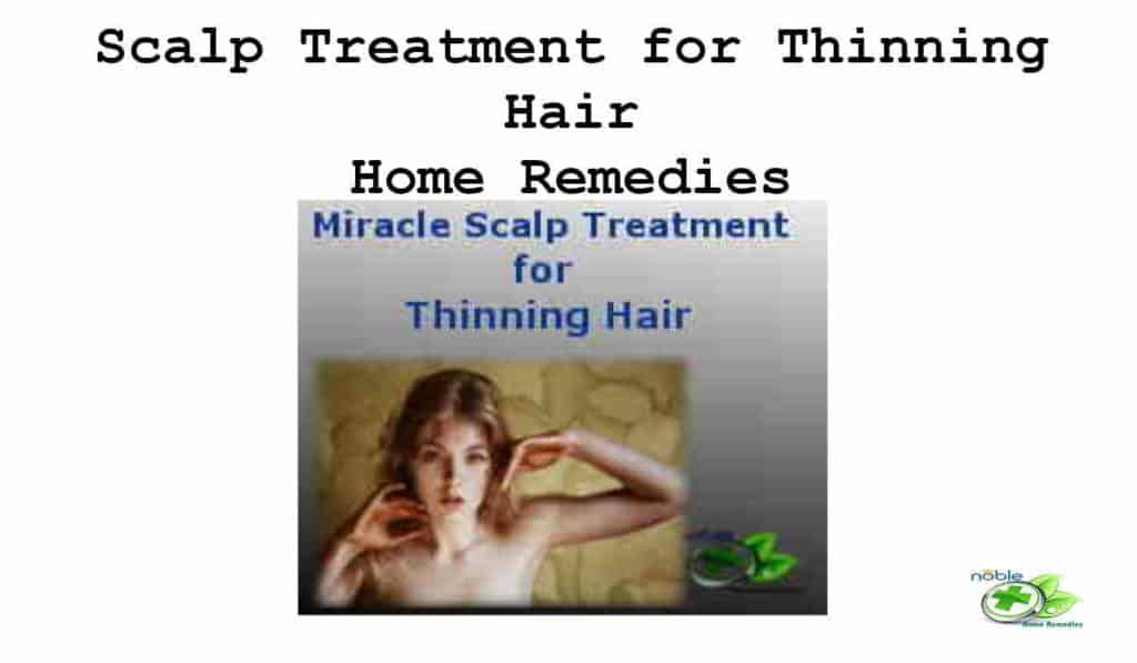 Miracle Scalp Treatment for Thinning Hair