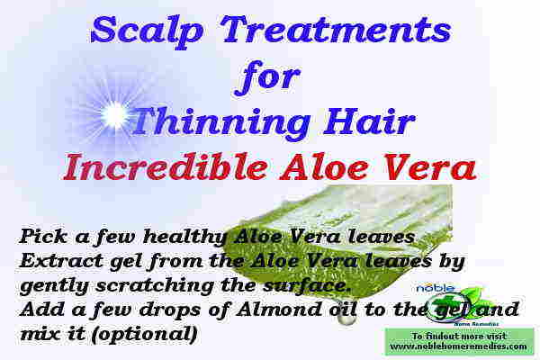 Miracle Scalp Treatment for Thinning Hair - Aloe Vera