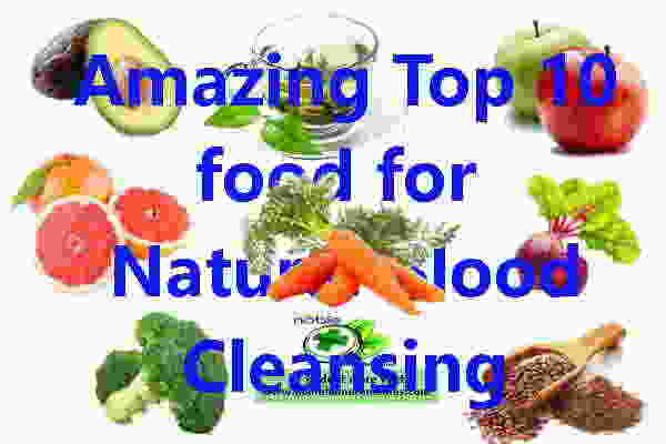 Natural Blood Cleansing Food