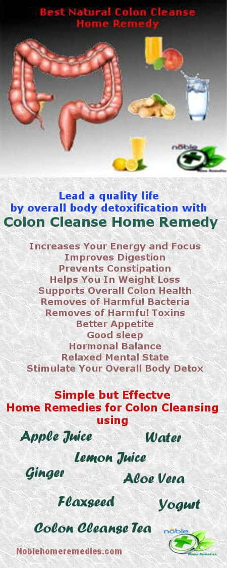 Colon Cleanse Home Remedy - Noble Home