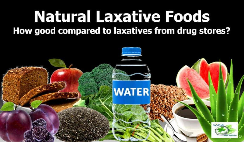 Natural Laxative Foods and Laxatives from Drug Stores