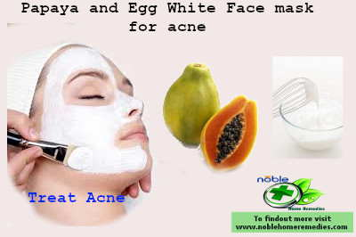 Papaya and Egg White Face mask