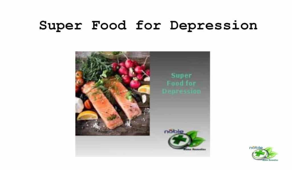 Super Food for Depression