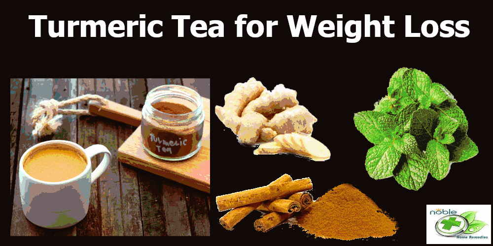turmeric tea for weight loss add ginger, mint leaves and cinnamon for more health benefits