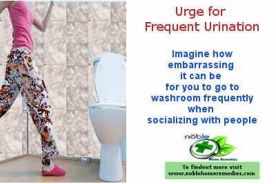 Urge for Frequent Urination - Urinary Tract Infection Symptoms