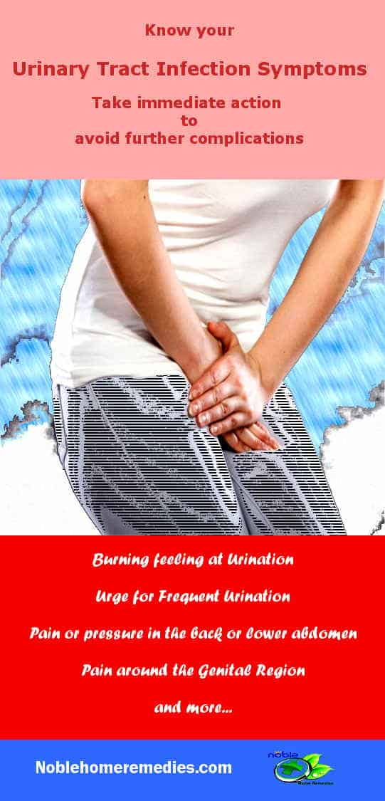 Urinary Tract Infection Symptoms Remedies