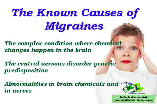 Causes of Migraines Headache