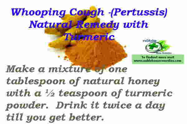 Whooping Cough - Turmeric Remedy