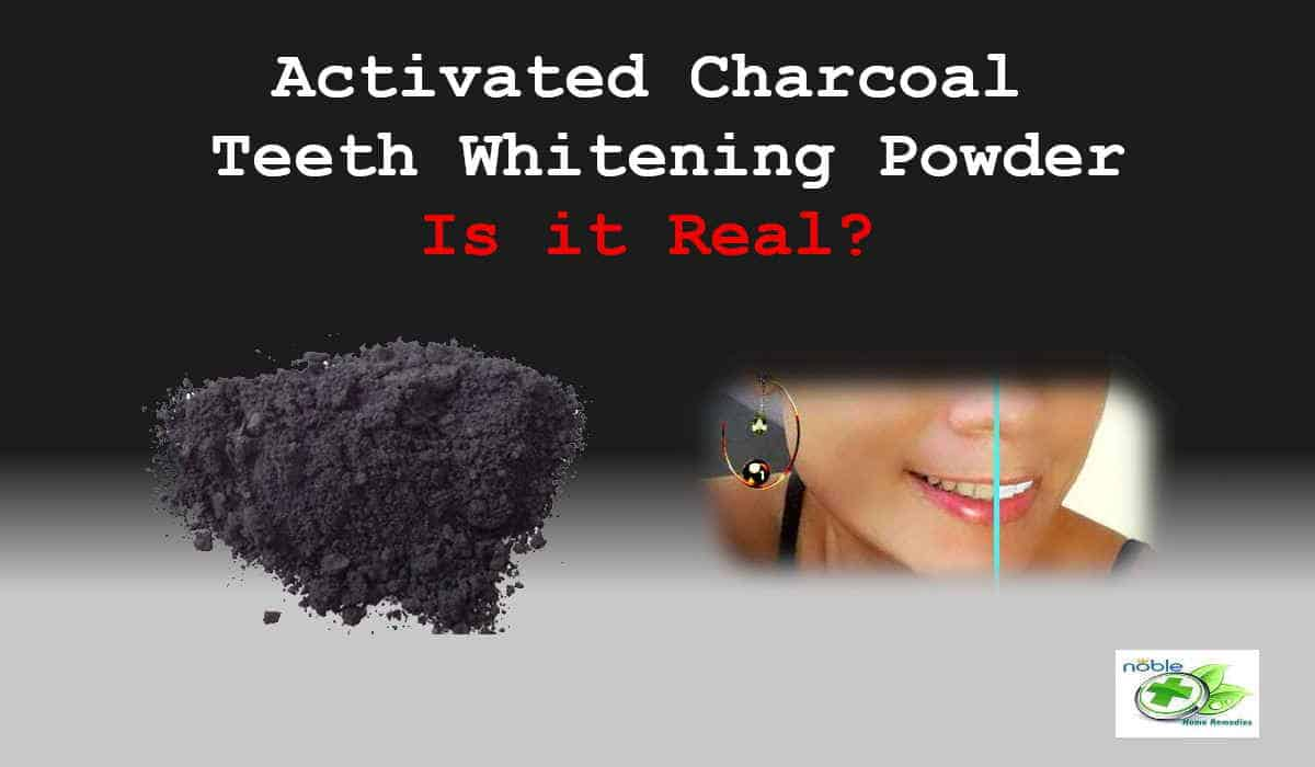 teeth whitening powder - activated charcoal