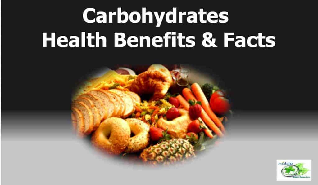 health benefits of carbohydrates with facts including weight loss and diabetes