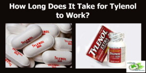 how long does it take for Tylenol to work on adults and children
