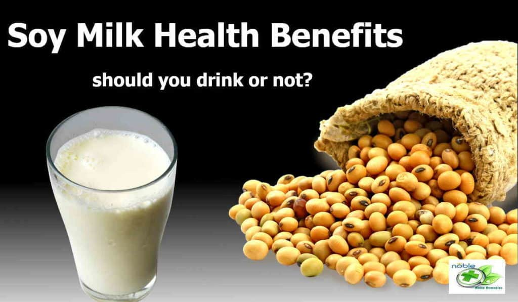 soy milk health benefits for females